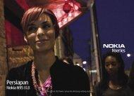 Persiapan - Nokia