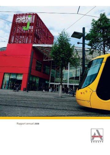 Rapport annuel 2008 - Altarea Cogedim