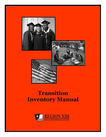 Transition Inventory Manual - Region 13