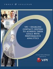 Authored by and Featuring Research from Frost & Sullivan - VPI