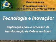 Rio de Janeiro, 28 de julho de 2011 Othon Luiz Pinheiro da Silva ...