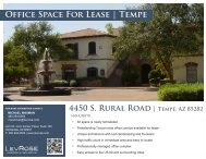 Office Space For Lease | Tempe