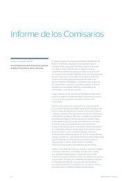 Informe de los Comisarios - Banco Provincial