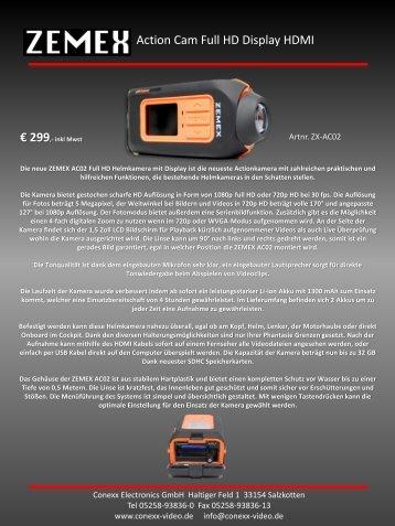 Produktdatenblatt - Conexx Electronics
