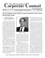 Do We Really Need To Hire Local Counsel For Our Texas Real ...