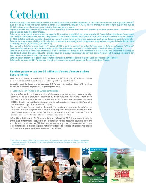 Rapport annuel 2006 - BNP Paribas