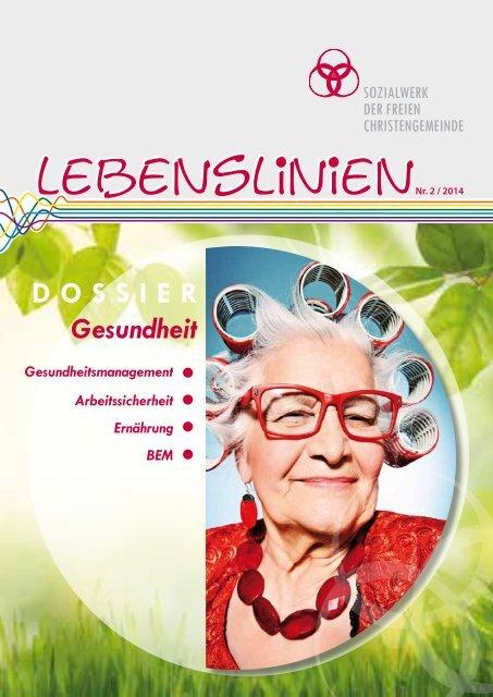 Trägerzeitschrift  LEBENSLINIEN - mit MENTOR-Infos auf Seite 18