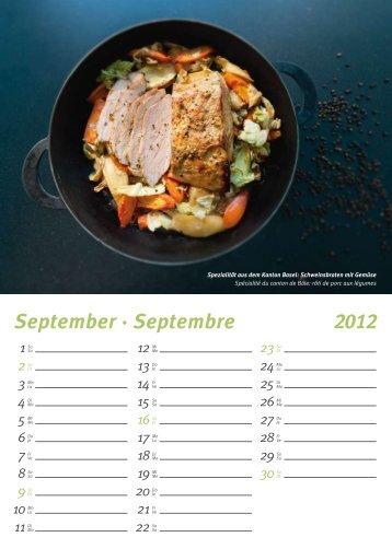 September · Septembre 2012 - Giger & Partner