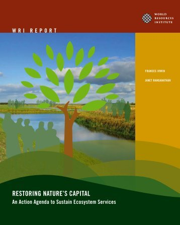 RESTORING NATURE'S CAPITAL - World Resources Institute
