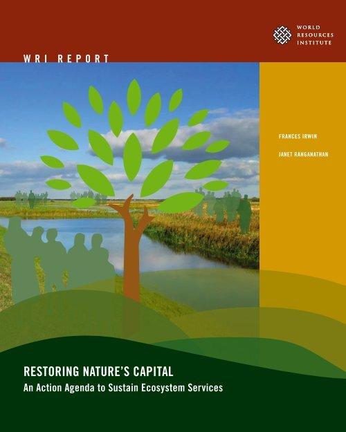 RESTORING NATURE'S CAPITAL - World Resources Institute