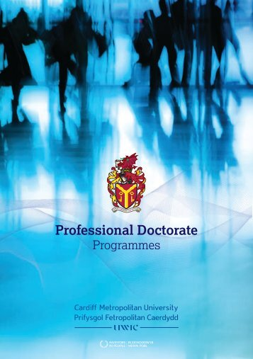 Professional Doctorate - Cardiff Metropolitan University