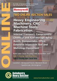 Heavy Engineering Machinery, CNC Machine Tools, Fabrication ...