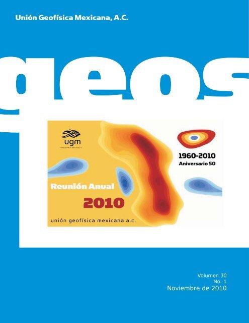 Libro de Resúmenes - Unión Geofisica Mexicana AC
