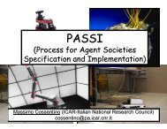(Process for Agent Societies Specification and Implementation) - FIPA