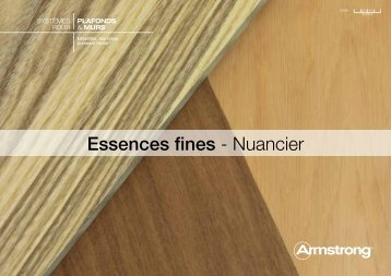 Essences fines - Nuancier - Armstrong
