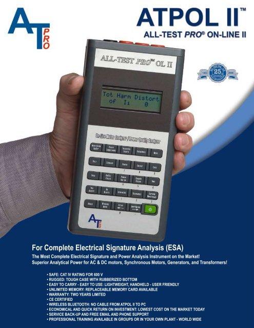 ATPOL II with ALL-SAFE PRO - ReliabilityWeb com