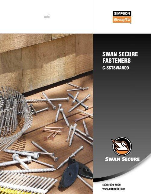 1 lbs Pack Square Drive 305 SS 256 7 x 1 1//4 Simpson Trim-Head Wood Decking Screws