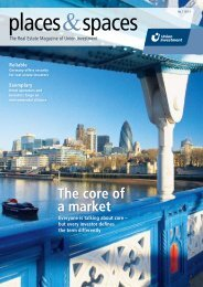 Places&spaces No 01/2011 - Union Investment