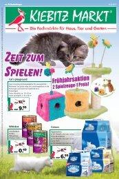 Alles für die Katze - Kiebitzmarkt