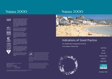Good Practice - UK Marine Special Areas of Conservation