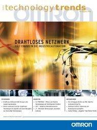 technologytrends 11/2003 DE - Omron Europe
