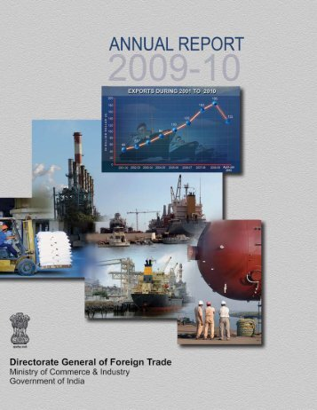 Annual Report 2009-10 (English) - Directorate General of Foreign ...