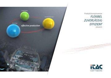 iTAC Software - Flexibel zuverlässig Effizient