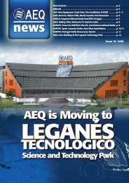 922-AEQnews-16ENG:Maquetación 1.qxd - AEQ International