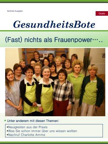 (Fast) nichts als Frauenpower….. - Gesundheitsforum Ambulante ...