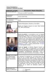 FICHA DE IDENTIFICACION Y RELEVAMIENTO - Historias para Creer