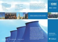 Download 2012-2014 Course Brochure - IDBE
