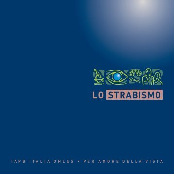 lo strabismo - Agenzia internazionale per la prevenzione della cecità