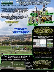 Page 1 of 13 - Morgan Hill Outdoor Sports Center