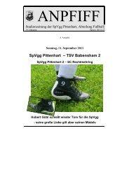 SpVgg Pittenhart – TSV Babensham 2