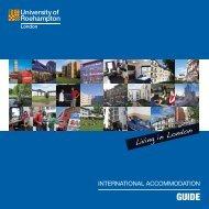International Accommodation Guide - Roehampton