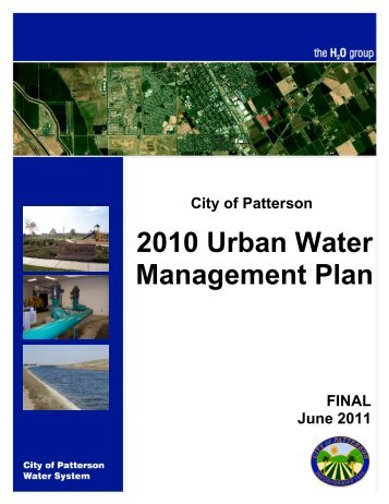 11.2 Urban Water Management Plan Part 2 - Patterson Residents for ...