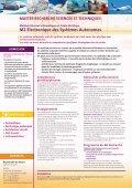 Brochure des Masters Recherche SIC et ESA - ENSEA - Page 2