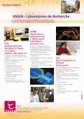 Brochure des Masters Recherche SIC et ESA - ENSEA - Page 4