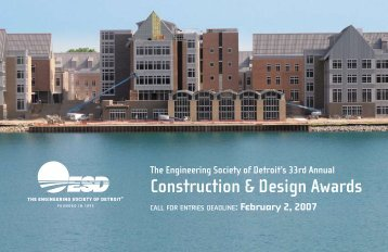 Construction & Design Awards - ESD