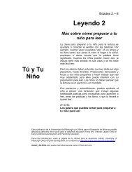 Leyendo 2 - Office of Child Development - University of Pittsburgh