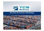 Servicios ferroviarios TCB Railway - Port de Barcelona