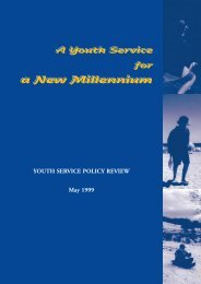A Youth Service for a New Millennium YOUTH SERVICE ... - MOST.ie
