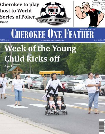 Week of the Young Child kicks off - Eastern Band of Cherokee