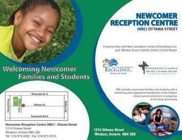 NEWCOMER RECEPTION CENTRE - Windsor-Essex Catholic ...