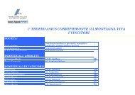 public/allegati/opuscolo montagna.pdf - Fidal Piemonte