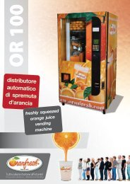 distributore automatico di spremuta d'arancia - Vendwest Vending ...
