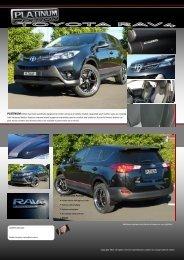 2013 Toyota RAV4 - Retro Vehicle Enhancement