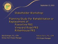 Stakeholder Meeting 2 Presentation - Flood Control District of ...