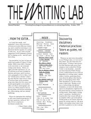 24.2 - The Writing Lab Newsletter