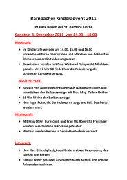 Kinderadvent 04.12.2011.pdf - Bärnbach